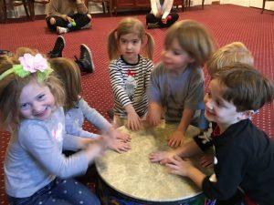 Drumming in group